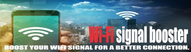 Boost your WIFI signal for better connectivity