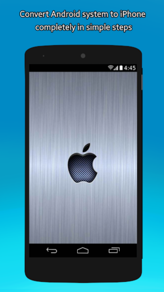 CONVERT ANDROID TO IPHONE WITHOUT ROOT 2020 (6)