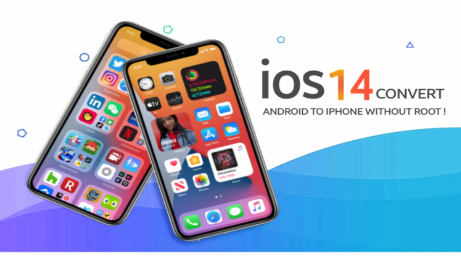 CONVERT ANDROID TO IPHONE WITHOUT ROOT