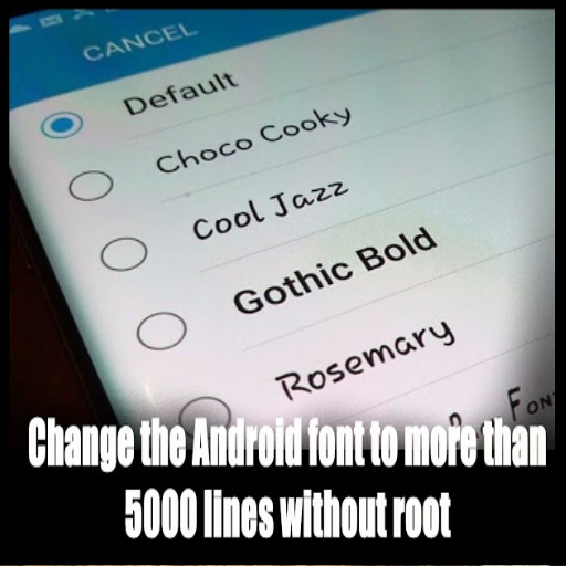 CHANGE THE ANDROID LINE 5000 LINES