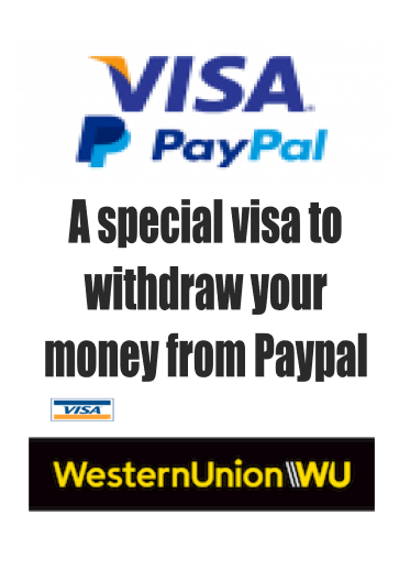 Withdraw money from Paypal to WU