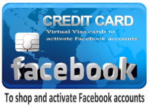 To shop and activate Facebook accounts