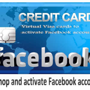 Visa Card To activate Facebook accounts