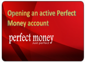We buy and sell Perfect Money credit