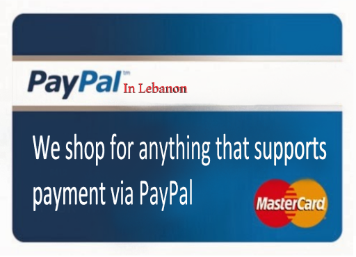 We shop for anything that supports payment via PayPal $$