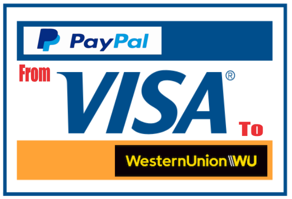 Withdraw money from PayPal via Western Union