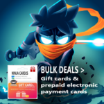Get prepaid gift cards and e-cards Instant